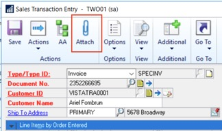 Document attachment in Dynamics GP | Tips and tricks for